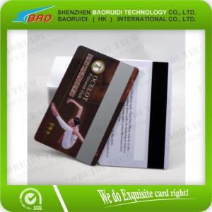 Buy cheap PVC Plastic  magnetic stripe card product