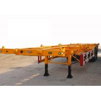 Quality 30t Payload 2 Axles 40ft Skeleton Container Semi Trailer for sale