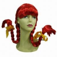 Buy cheap Party Wig, Non-flammable product
