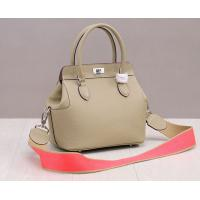 Buy cheap high quality 26cm nude color women designer doctor bag small calfskin leather tote bags M-G01-8 product
