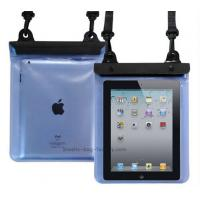Buy cheap Transparent Waterproof Pouch Bag TPU / PVC Materials 100% Sealed For Ipad product