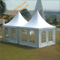 China UV Resistance Fireproof Party Event Tent Wedding  5x5m Canopy Tent Pagoda on sale