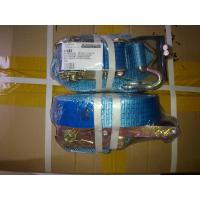 Buy cheap Lightweight  Ratchet Tie Down Straps EN12195-2 Standard With Blue Label product