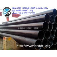 China LSAW welded pipe,stainless steel pipe welded machine,spiral welded steel pipe,API 5L anti-rust black painting  lsaw pipe on sale