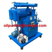 Buy cheap Single-stage Vacuum Insulation Oil Reclamation, Cable Oil Purifier, Dielectric Oil Processing Machine manufacture China product