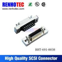 China Straight CN Type MDR 26P 36P 50P SCSI Jack Cable Connector on sale
