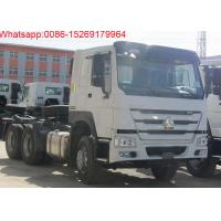 Buy cheap China SINOTRUK HOWO ZZ4257S3241W 6x4 diesel engine type 10 tire 371hp tractor truck product