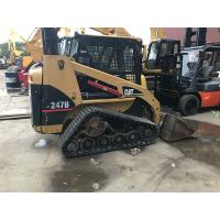 Buy cheap Used Rubber Track Caterpillar Skid Steer Loader 247b With Original Paint product