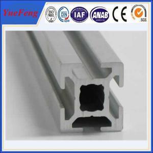 China Hot! anodized and powder coated t-slot aluminum supplier, t-slot aluminum profile factory on sale