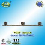 Buy cheap H023 metal coffin long bar made of zamak zinc herrajes de ataudes 1 meter with 3 bases product
