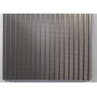 Buy cheap Mini High Precision Wedge Wire Screen Panels 300mm X 200mm For Filtration Plants from Wholesalers