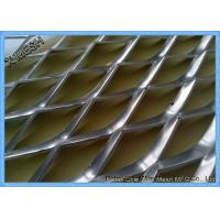 Buy cheap Galvanized Architectural Metal Mesh , Expanded Mesh Screen SGS Certification product