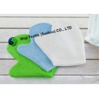 China Lime Green Blue white Chenille Wash Mitt for Car 18*24cm 32g/pc on sale