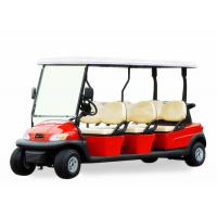 Buy cheap Popular Outdoor 6 Seater Golf Cart With Aluminum Rim , 48V Battery Voltage product