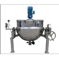Buy cheap Jacket Kettle 500 Liter Steam Jacketed Cooking Kettle ooking Electric Kettle Electric Oil Jacket Kettle Mixing product