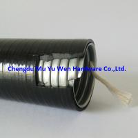 "Buy cheap 1/2"" liquid tight flexible galvanized steel flexible conduit with black PVC covered product"