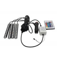 China Sound Activated Car Pixel RGB LED Flexible Strip Wireless Remote Control 16 Colors on sale