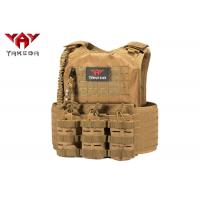 Buy cheap Laser Cutting Army Military Tactical Vest , Swat Combat Training Ballistic Bullet Proof Vest product