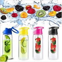 Buy cheap Fruit infuser Water Bottles Drinkware Type and Stocked,Eco-Friendly Feature Tritan Water Bottle with Fruit Infuser product