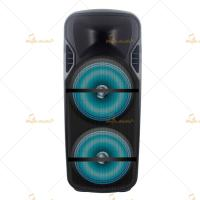 Buy cheap Plastic Bluetooth Portable PA Speakers 12 Inch Remote Control from wholesalers