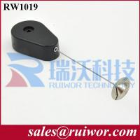 Buy cheap RW1019 Anti Lost Retractable Recoiler with round metal plate for electronic products display product