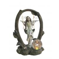 Buy cheap Swinging Fairy Garden Solar Light , Solar Garden Lanterns For Garden Decoration product
