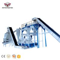 Buy cheap China Professional Supplier of 10,000MT -20,000MT per Month Semi-Automatic Wood Biomass Pellet Production Line product