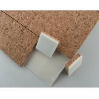 Buy cheap Adhesive Shipping Cork Pads Glass 15x15mm or Customized size On Sale product