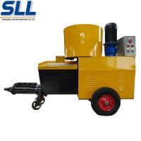 Buy cheap High Efficiency Wall Cement Plaster Machine 380V / 7.5kW 12 Months Guarantee product