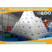 Buy cheap Rave Sports Inflatable Water Park Games Iceberg Floating Climbing Wall For Outdoor product