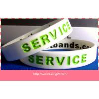 Buy cheap Most popular  silicone bracelets custom silicone arm band product