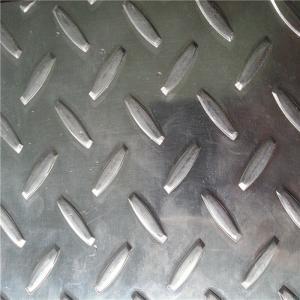 Buy cheap Diamond 2mm Aluminium Checker Plate Flooring High Weldable Durablity For Construction product
