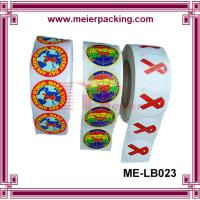 Buy cheap Custom self-adhesive printing roll sticker/Printed labels colorful print vinyl sticker ME-LB023 product