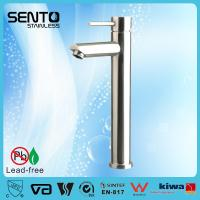 Buy cheap SENTO patented product stainless steel wash basin faucet for worldwide market product