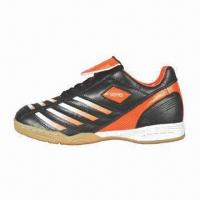 China Men's Indoor Soccer Shoe/Fashionable Sports Shoe, Available in Various Sizes on sale
