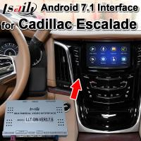 Buy cheap Android 7.1 Car GPS Navigation Box Video Interface for Cadillac CUE System , RAM from wholesalers
