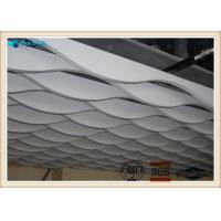 Buy cheap Double Curved Surface 1100 Custom Aluminum Plate for building lobby product