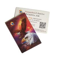Buy cheap Eco - Friendly Material 3D Lenticular Card Round / Square Shape Support Printing Service product