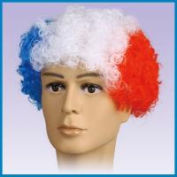 Buy cheap france football fans wig, sports wigs. product