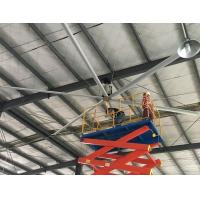 China 24 FT large energy saving industrial ceiling fan with Al-Mg alloy fan blades on sale