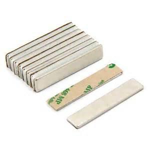 China N52 Super Strong Permanent 3M Adhesive Neodymium Block Magnet on sale