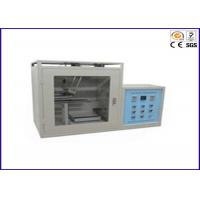 Buy cheap PLC Control Horizontal / Vertical Flammability Tester , PV 3357 UL Test Equipment product