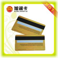 China ISO NTAG213 ISO14443A NFC Business Smart Card With Hico Loco Magnetic Strip Cards on sale