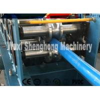 Buy cheap Galvanized Down Pipe Roll Forming Machine Unique High Speed product