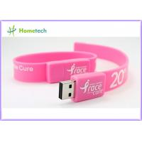 Buy cheap Silicon Wristband USB Flash Drive product