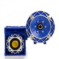 Buy cheap NMRV RV Ratio 20/1 56C Worm Reduction Gearbox With Double Shaft 50Hz Frequency product