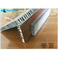 Buy cheap Anti Shock Perforated Type Aluminum Honeycomb Core For Building Exterior Walls product