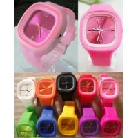 China New arrival jelly silicone watch,candy silicone digital watch,sport watch on sale