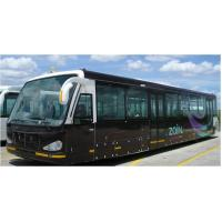 Buy cheap Large Capacity 4 Stroke Diesel Engine Airport Shuttle Bus 5300 product