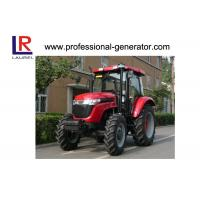 China Gear Drive 4 Wheel Tractor , Power Steering Dual Speed PTO Agricultural Machinery on sale